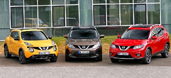 véhicules Nissan
